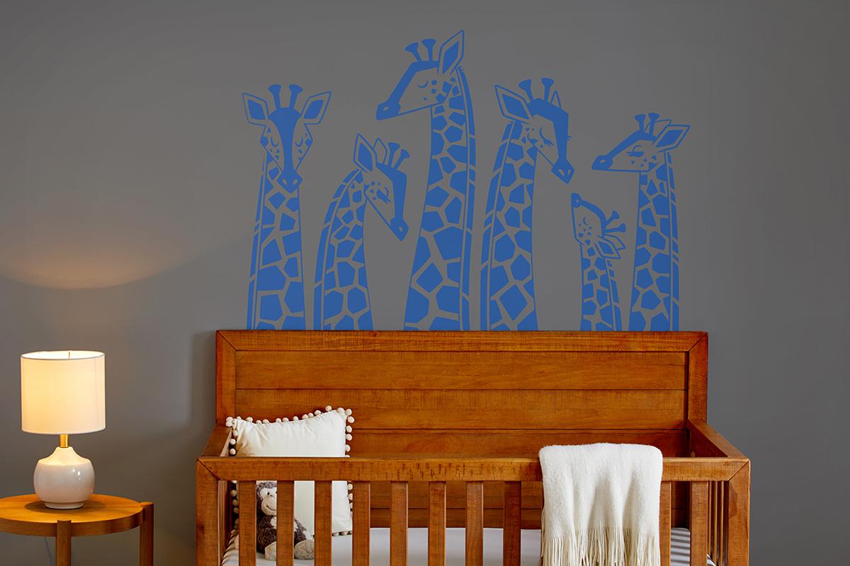Smart Vinyl Giraffe Decal