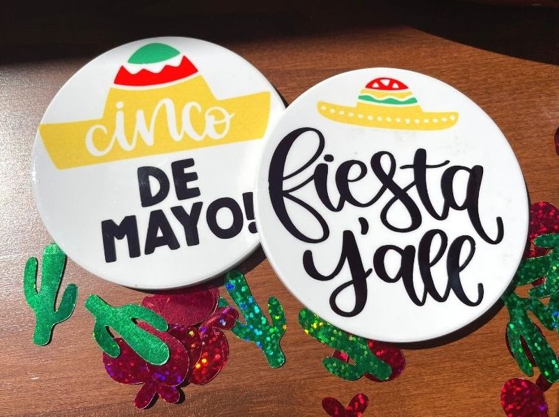 Coasters for Cinco de Mayo