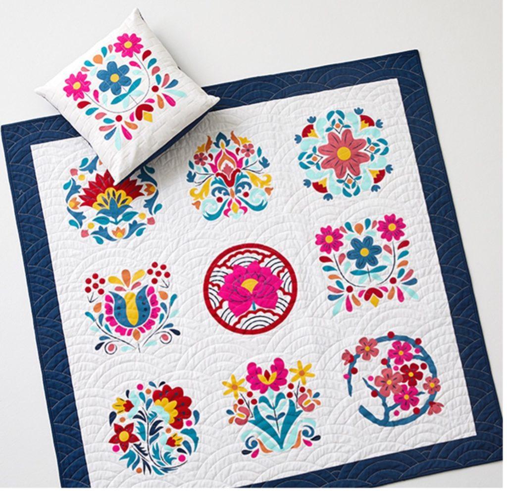 Cricut Block of the Month quilt