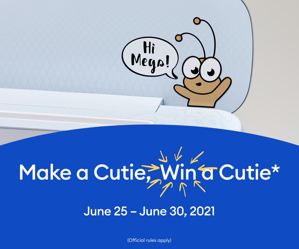 make a cricut cutie win a cutie