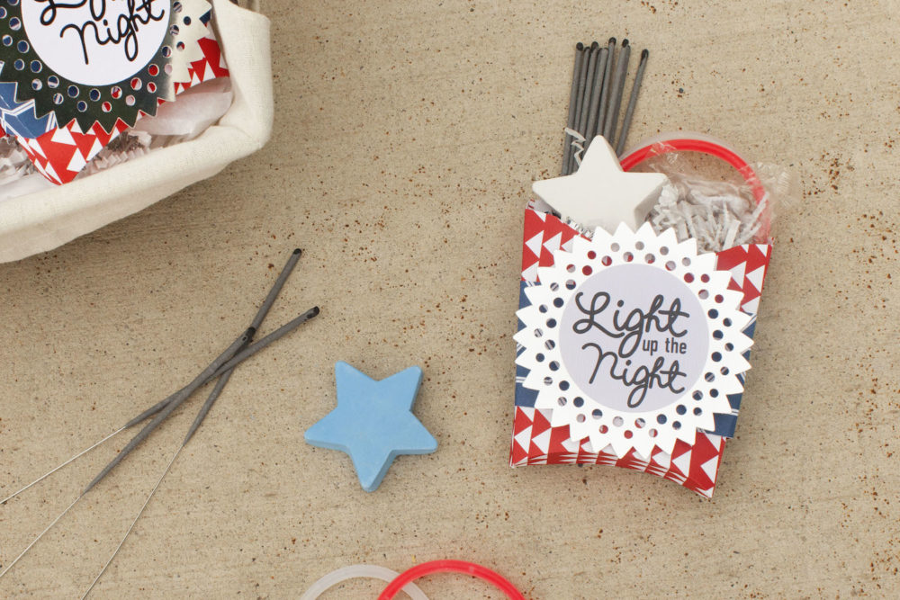 """""""Light up the night"""" party favors for the Fourth of July"""
