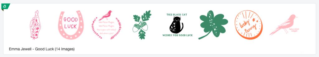 Emma Jewell - Good Luck Image Set