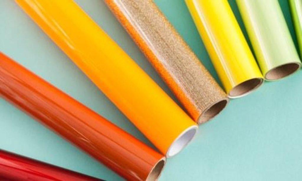 rolls of vinyl smart materials