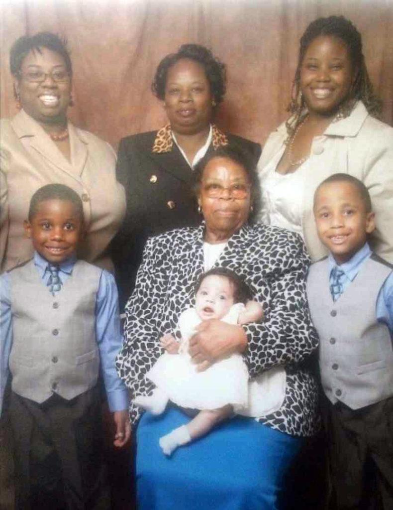 Keionna Baker family photo