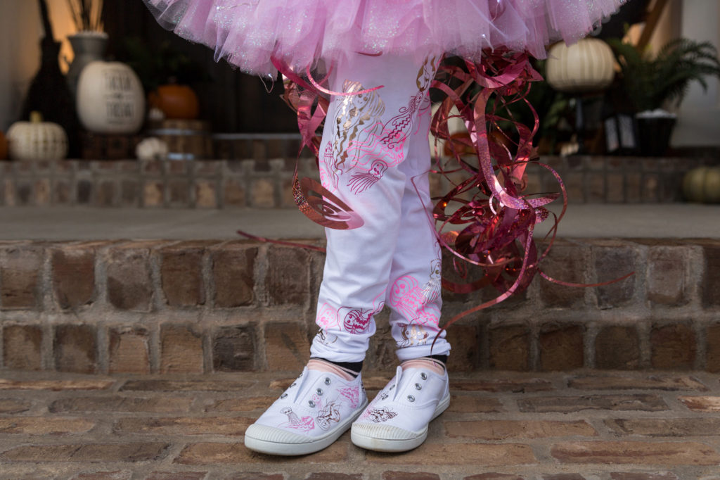 tutu with jellyfish tentacles kid costumes