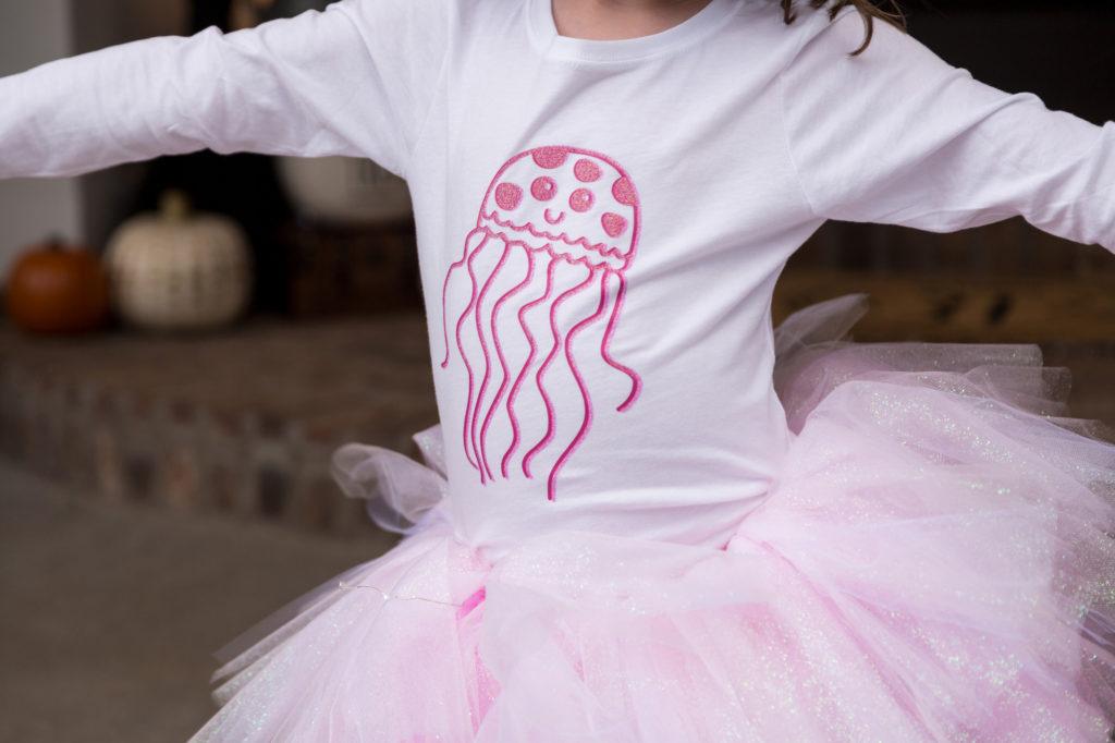 jellyfish shirt with tutu kid costumes