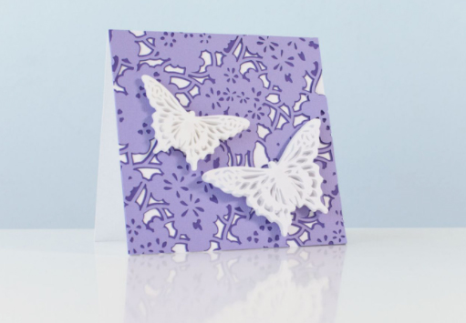 butterfly 3d card