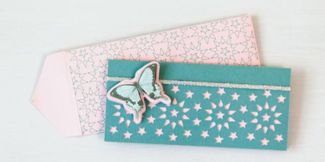butterfly card envelope