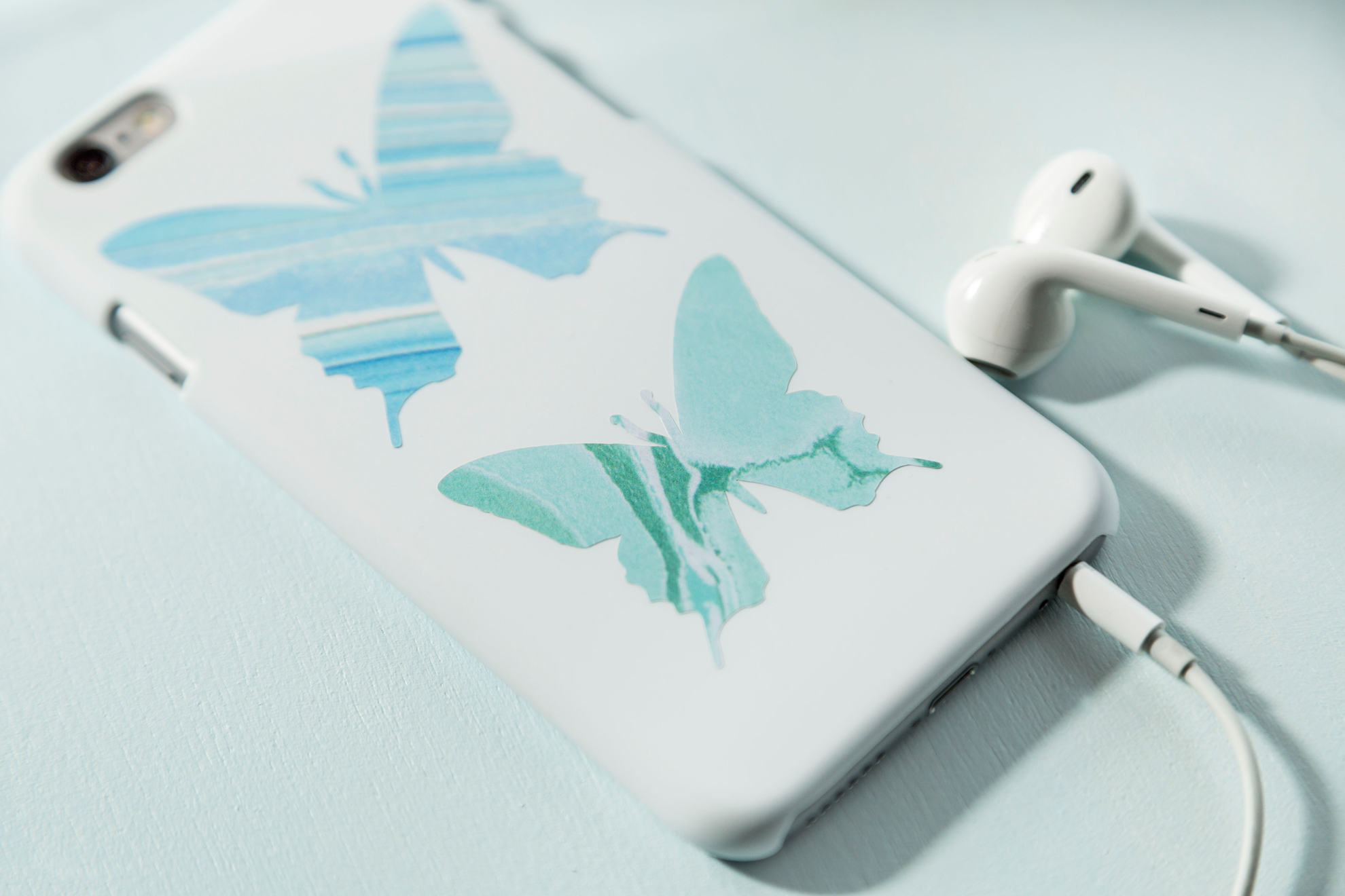 butterfly phone case decals