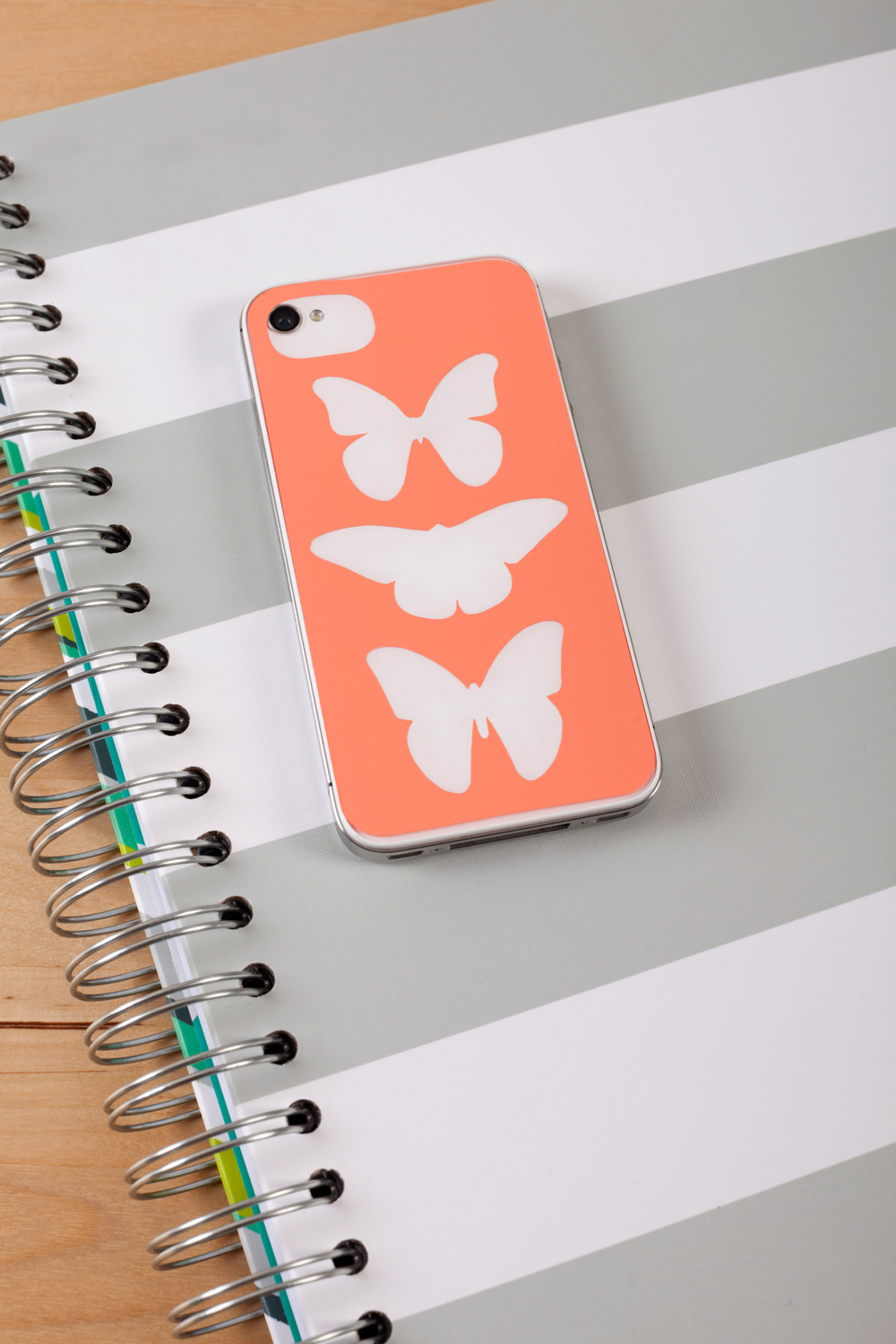 butterfly silhouette phone-case