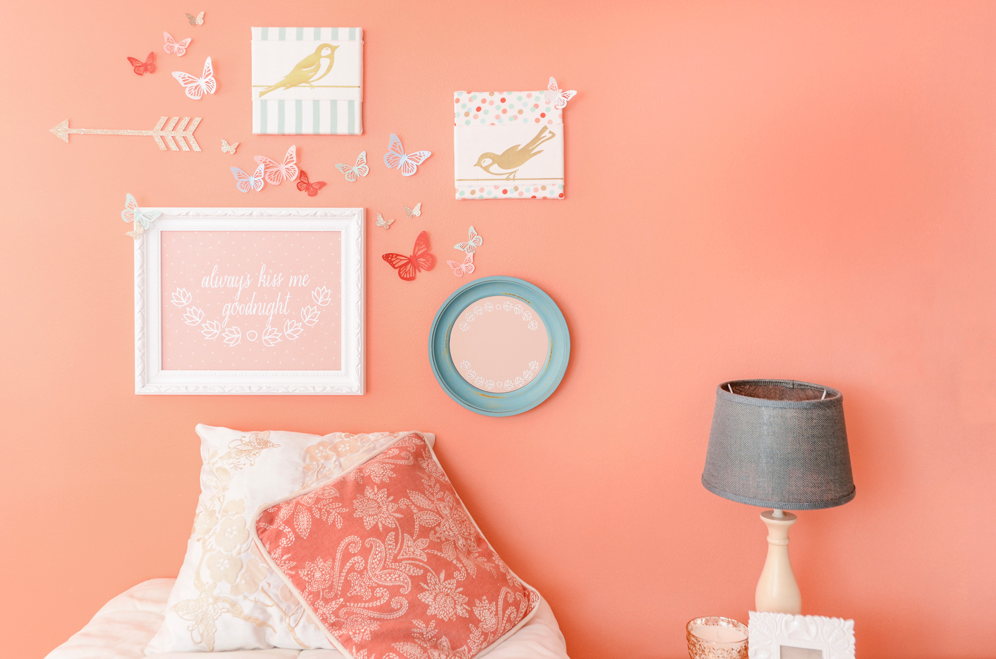 butterfly wall decor accents